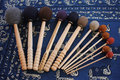 Professional singing bowl mallets