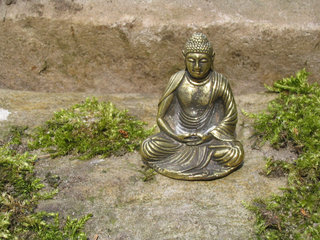 Buddha-miniature-statues