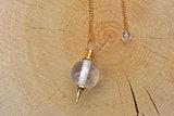 Pendulum crystal, round_