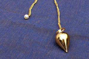 brass pendulum small (round)