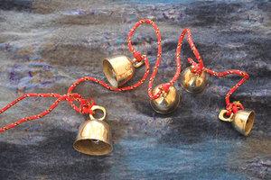 Bell string 5 bells, max. 38 mm