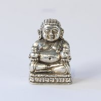 Pendant money Buddha 1.5 cm