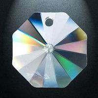 Rainbow crystal Octagon, 14 mm (100)