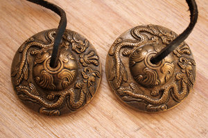 Tingsha (brass) -Dragon