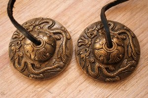 Tingsha (bronze) -Dragon