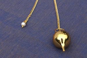 brass pendulum large (round)