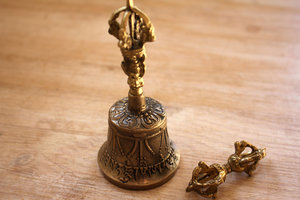 Dorjé and Bell mini - 5 cm