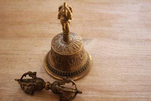 Dorjé en Bell small - 6 cm