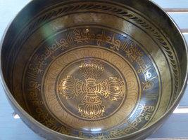 Singing bowl Vajra