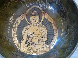 Singing bowl Buddha