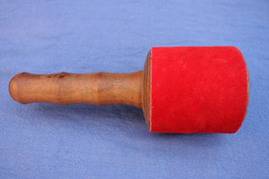 Mallet wood - leather extra large