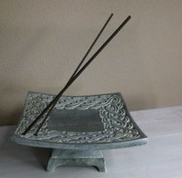 Celtic incense holder