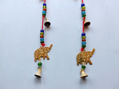fortune bell string elephant