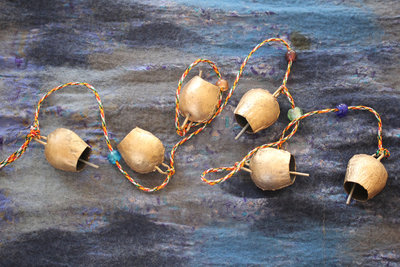 Bell string iron bells (1½ inch)
